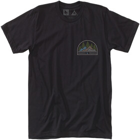 Hippy Tree Observation Camiseta Hombre, black